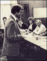 Dave Rockwell teaching class in 1974